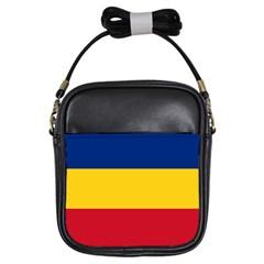 Gozarto Flag Girls Sling Bags