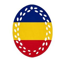 Gozarto Flag Ornament (oval Filigree)