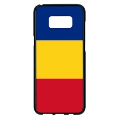 Gozarto Flag Samsung Galaxy S8 Plus Black Seamless Case
