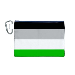 And Stripes Canvas Cosmetic Bag (m)
