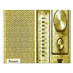 I Love My Radio! Rectangular Jigsaw Puzzl