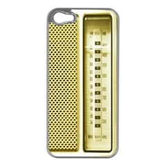 I Love My Radio! Apple Iphone 5 Case (silver)