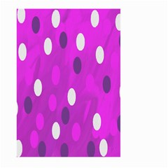 Pink Rain Drops Of Love! Large Garden Flag (two Sides)