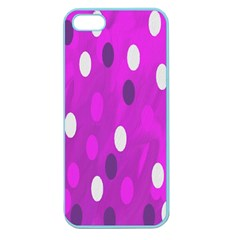 Pink Rain Drops Of Love! Apple Seamless Iphone 5 Case (color)