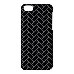 Brick2 Black Marble & Gray Colored Pencilbrick2 Black Marble & Gray Colored Pencil Apple Iphone 5c Hardshell Case