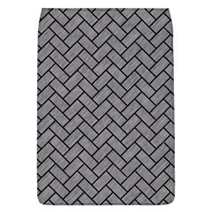 Brick2 Black Marble & Gray Colored Pencil (r) Flap Covers (l)