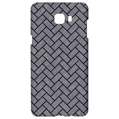 Brick2 Black Marble & Gray Colored Pencil (r) Samsung C9 Pro Hardshell Case