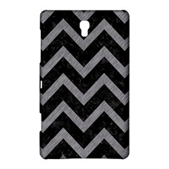 Chevron9 Black Marble & Gray Colored Pencil Samsung Galaxy Tab S (8 4 ) Hardshell Case