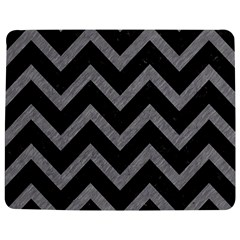Chevron9 Black Marble & Gray Colored Pencil Jigsaw Puzzle Photo Stand (rectangular)