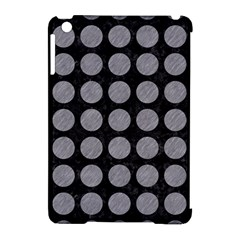 Circles1 Black Marble & Gray Colored Pencilcircle1 Black Marble & Gray Colored Pencil Apple Ipad Mini Hardshell Case (compatible With Smart Cover)