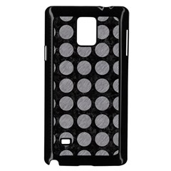 Circles1 Black Marble & Gray Colored Pencilcircle1 Black Marble & Gray Colored Pencil Samsung Galaxy Note 4 Case (black)