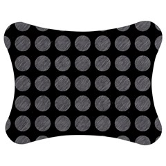 Circles1 Black Marble & Gray Colored Pencilcircle1 Black Marble & Gray Colored Pencil Jigsaw Puzzle Photo Stand (bow)