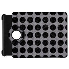 Circles1 Black Marble & Gray Colored Pencil (r) Kindle Fire Hd 7