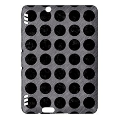 Circles1 Black Marble & Gray Colored Pencil (r) Kindle Fire Hdx Hardshell Case