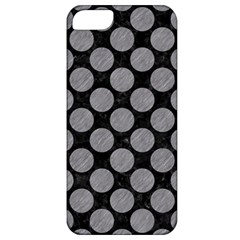 Circles2 Black Marble & Gray Colored Pencil Apple Iphone 5 Classic Hardshell Case
