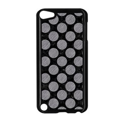 Circles2 Black Marble & Gray Colored Pencil Apple Ipod Touch 5 Case (black)