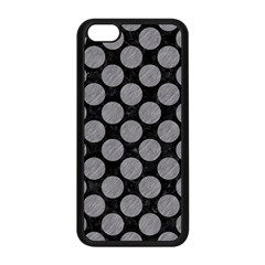 Circles2 Black Marble & Gray Colored Pencil Apple Iphone 5c Seamless Case (black)
