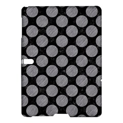 Circles2 Black Marble & Gray Colored Pencil Samsung Galaxy Tab S (10 5 ) Hardshell Case