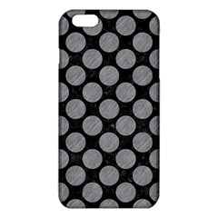Circles2 Black Marble & Gray Colored Pencil Iphone 6 Plus/6s Plus Tpu Case