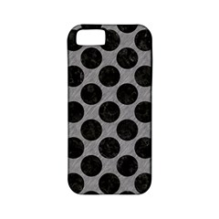 Circles2 Black Marble & Gray Colored Pencil (r) Apple Iphone 5 Classic Hardshell Case (pc+silicone)