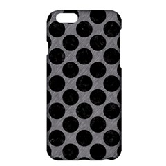 Circles2 Black Marble & Gray Colored Pencil (r) Apple Iphone 6 Plus/6s Plus Hardshell Case