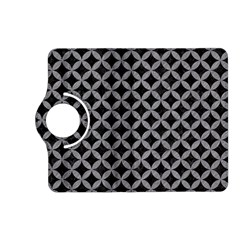 Circles3 Black Marble & Gray Colored Pencil Kindle Fire Hd (2013) Flip 360 Case