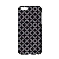 Circles3 Black Marble & Gray Colored Pencil Apple Iphone 6/6s Hardshell Case