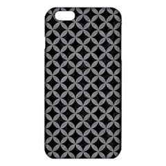 Circles3 Black Marble & Gray Colored Pencil Iphone 6 Plus/6s Plus Tpu Case