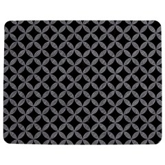 Circles3 Black Marble & Gray Colored Pencil Jigsaw Puzzle Photo Stand (rectangular)