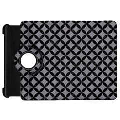 Circles3 Black Marble & Gray Colored Pencil (r) Kindle Fire Hd 7