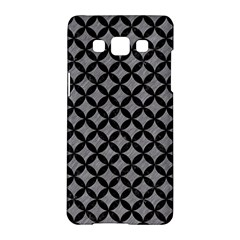 Circles3 Black Marble & Gray Colored Pencil (r) Samsung Galaxy A5 Hardshell Case