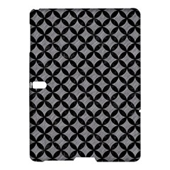 Circles3 Black Marble & Gray Colored Pencil (r) Samsung Galaxy Tab S (10 5 ) Hardshell Case
