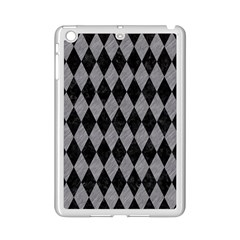 Diamond1 Black Marble & Gray Colored Pencil Ipad Mini 2 Enamel Coated Cases