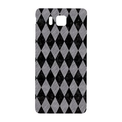 Diamond1 Black Marble & Gray Colored Pencil Samsung Galaxy Alpha Hardshell Back Case
