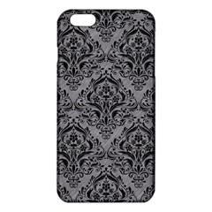 Damask1 Black Marble & Gray Colored Pencil (r) Iphone 6 Plus/6s Plus Tpu Case