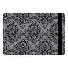 Damask1 Black Marble & Gray Colored Pencil (r) Apple Ipad Pro 10 5   Flip Case
