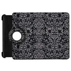 Damask2 Black Marble & Gray Colored Pencil Kindle Fire Hd 7