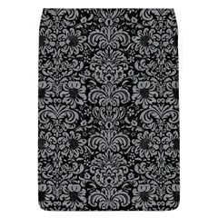 Damask2 Black Marble & Gray Colored Pencil Flap Covers (l)