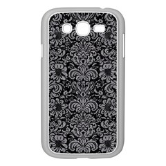Damask2 Black Marble & Gray Colored Pencil Samsung Galaxy Grand Duos I9082 Case (white)