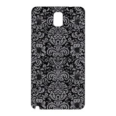 Damask2 Black Marble & Gray Colored Pencil Samsung Galaxy Note 3 N9005 Hardshell Back Case