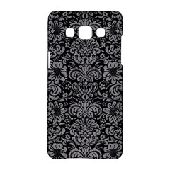 Damask2 Black Marble & Gray Colored Pencil Samsung Galaxy A5 Hardshell Case