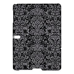 Damask2 Black Marble & Gray Colored Pencil Samsung Galaxy Tab S (10 5 ) Hardshell Case