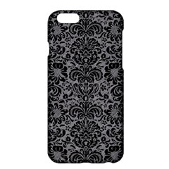 Damask2 Black Marble & Gray Colored Pencil (r) Apple Iphone 6 Plus/6s Plus Hardshell Case