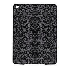 Damask2 Black Marble & Gray Colored Pencil (r) Ipad Air 2 Hardshell Cases