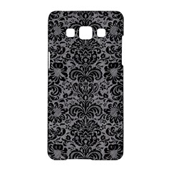 Damask2 Black Marble & Gray Colored Pencil (r) Samsung Galaxy A5 Hardshell Case