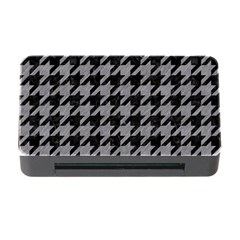 Houndstooth1 Black Marble & Gray Colored Pencil Memory Card Reader With Cf