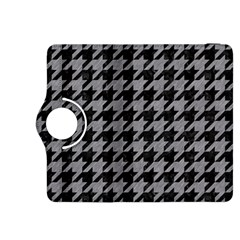Houndstooth1 Black Marble & Gray Colored Pencil Kindle Fire Hdx 8 9  Flip 360 Case
