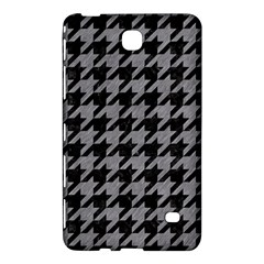 Houndstooth1 Black Marble & Gray Colored Pencil Samsung Galaxy Tab 4 (8 ) Hardshell Case