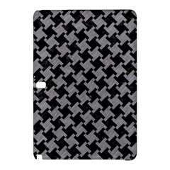 Houndstooth2 Black Marble & Gray Colored Pencil Samsung Galaxy Tab Pro 10 1 Hardshell Case