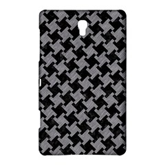 Houndstooth2 Black Marble & Gray Colored Pencil Samsung Galaxy Tab S (8 4 ) Hardshell Case